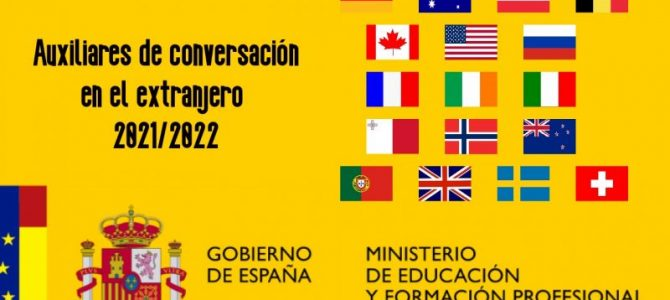 Convocatoria Auxiliares de conversación españoles en el exterior 2021